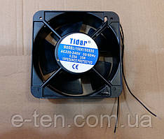 Вентилятор осьовий універсальний Tidar 150мм*150мм*50мм / 220-240V / 0,29 А / 35W (КВАДРАТНИЙ)