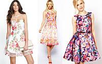 Одежда в цветочный принт