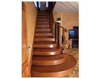 Лестница с заходными ступенями (ясень), фото 2