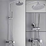 Душевые системы с тропическим душем