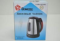 Чайник электрический дисковый DOMOTEC DT818, фото 1