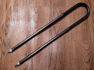 20) Тэны сухие воздушные (прямые, дуга), тэны оребрённые