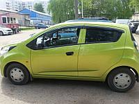 Дефлекторы окон (ветровики) Chevrolet SPARK III 2009-