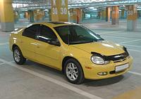 Дефлектор капота (мухобойка) Dodge Neon 2000-2005