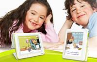 Книга электронная цветная Aiptek Story Book InColor со звуком для детей 3 в1