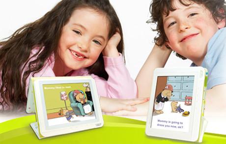 Книга электронная цветная Aiptek Story Book InColor со звуком для детей 3 в1 - Магазин Кошара в Киеве