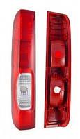 Фонарь левый и правый вкладыш (распашные двери) 06-13 Opel Vivaro 00-13 (ОПЕЛЬ ВИВАРО)