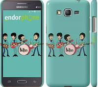 "Чехол на Samsung Galaxy J7 J700H Битлз на бирюзовом фоне ""179c-101"""