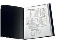 Папка на 30 файлов А4 пластиковая Axent 1030 дисплей-книга бордо, фото 1