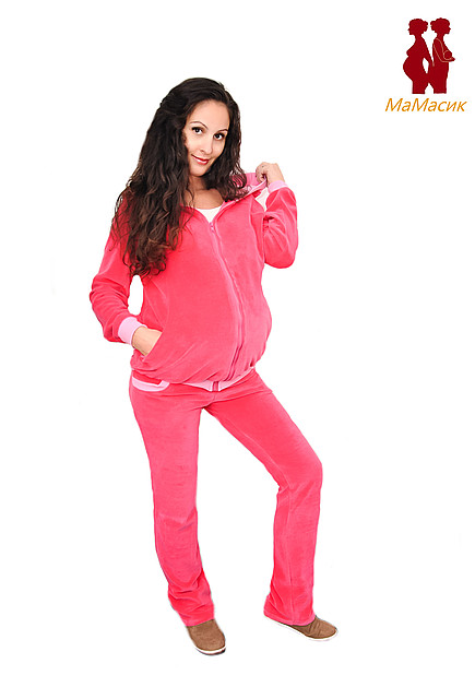 59b754793760 Спортивный костюм для будущих мам - HAPPY MAMA - одежда для беременных и  кормящих, одежда
