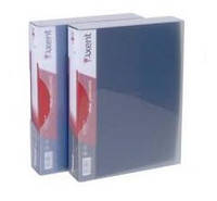Папка на 80 файлов А4 пластиковая Axent 1080 дисплей-книга