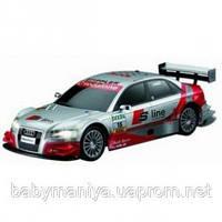 Автомобиль на р/у Audi А4 серебряный 1:28