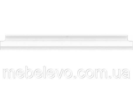 Полка навесная Вайт 120  114х1200х294мм ясень снежный  Гербор, фото 2