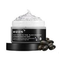 Разглаживающая морщины мгновенная маска с экстрактом черных бобов Mizon Enjoy Fresh On-Time Black Bean
