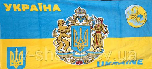 Полотенце пляжное  Украина Герб