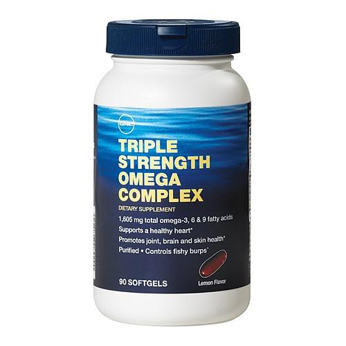 Рыбий жир GNC Triple Strength Omega Complex 90 sof