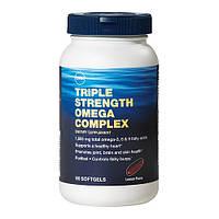 Рыбий жир Омега 3 6 9, Omega 3 6 9 GNC Triple Strength Omega Complex 90 sof