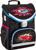 Рюкзак школьный каркасный Kite 529 Hot Wheels для мальчиков