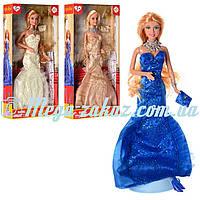 Кукла Defa Lucy Модница 8270 в вечернем платье: 3 вида