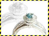 Эксклюзивное золотое кольцо -QUEEN- с бриллиантами 1,17 карат!