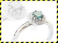 Золотое кольцо -Charm- с бриллиантами 0,63 карат.