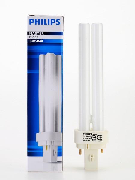Лампа PHILIPS MASTER PL-C 13W/865 2P G24d-1 (Польша)