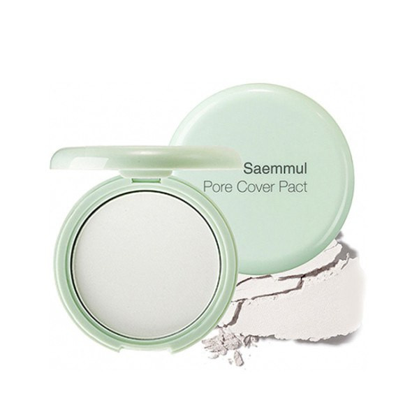 Матирующая бесцветная пудра The Saem Saemmul Perfect Pore Pact