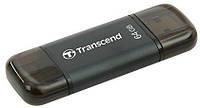 Флэш-накопитель для iPhone, iPad и iPod Transcend JetDrive Go 300 64GB Black (TS64GJDG300K)