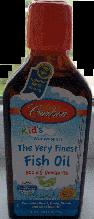 Детский рыбий жир, Carlson for Kids The Very Finest Fish Oil 200 ml