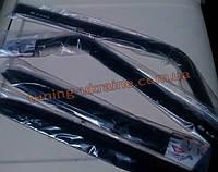 Дефлекторы окон (ветровики Voron) для ВАЗ 1119 LADA Калина Хэтчбек 2013+