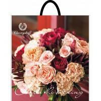 Пакет пласт руч 37*33 Букет роз