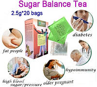 Чай для снижения сахара в крови Цинцяньлю, чай от диабета, 20 пакетов