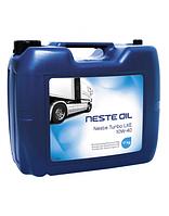 Моторное масло Neste Oil TurboLXE 10W-40 20L