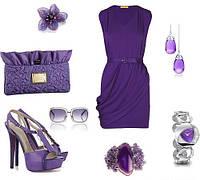 Сочетание цветов в одежде: что делать с фиолетовым.