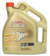 Масло моторное Castrol EDGE Turbo Diesel 5W40 5л