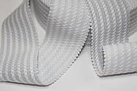 Резинка декоративная 50мм (27.5м) белая, фото 1