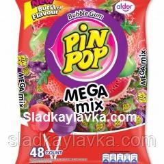 Леденцы Pin Pop Mix пакет 48 шт (Aldor)