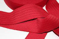 Резинка декоративная 50мм (27.5м) красная, фото 1