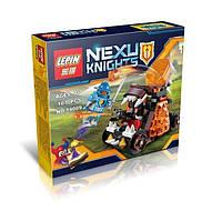 """Конструктор Lepin 14009 Nexo Knight (аналог Лего) """"Безумная катапульта"""", 107 дет"""
