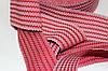 Резинка декоративная 50мм (27.5м) красный+белый