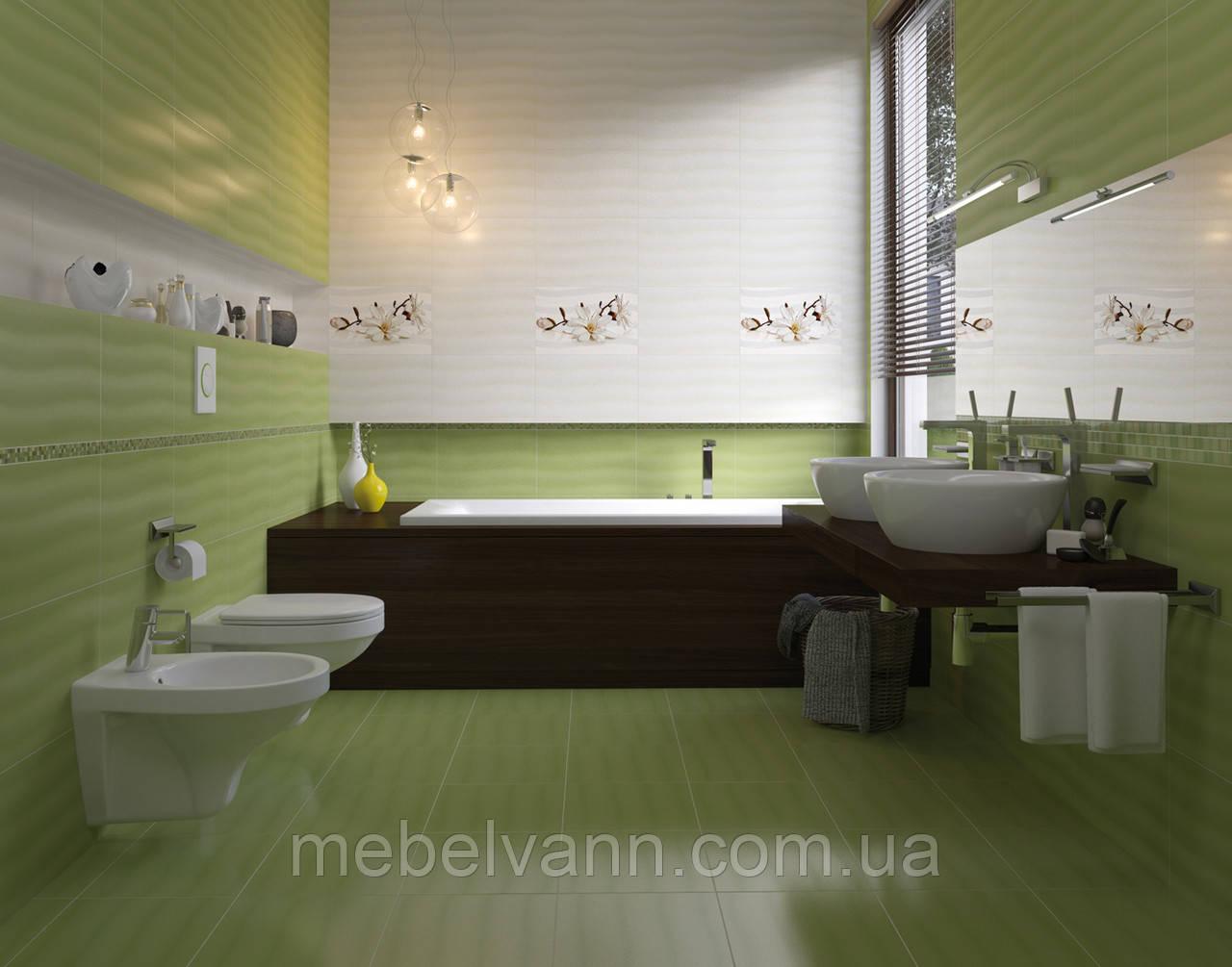 Плитка для ванной Flora Opoczno Флора Опочно