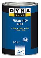 Грунт акриловый Dyna Coat Filler 4100 4+1 серый с отвердителем 0,8л + 0,2л