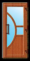 Пластиковые входные двери модель 1