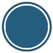 забор из профнастила | синий профнастил