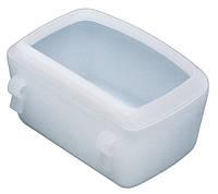 Пластиковая кормушка для кошек и собак CLIP 6902 LARGE 16 x 11 x h 5,8 cm - 0,55 L