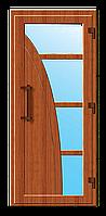 Пластиковые входные двери модель 2
