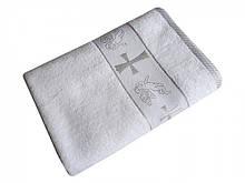 Полотенце махровое для крещения Silver 70*140 Турция