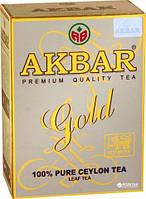 Черный чай Акбар золотой 250г