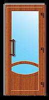 Пластиковые входные двери модель 4