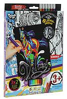 Бархатная раскраска фломастерами Velvet (VLV-01-09)